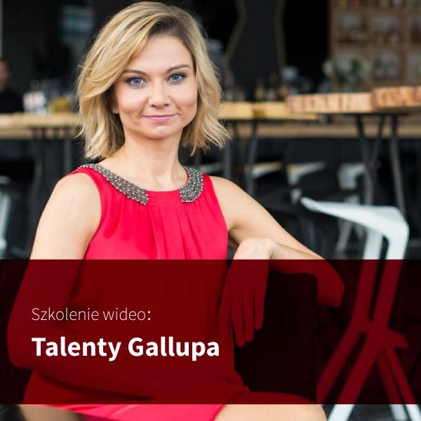 Talenty Gallupa – nagranie szkolenia online | Sylwia Zawada Coach
